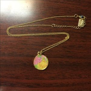 "Lilly Pulitzer charm 20"" necklace"